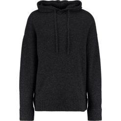 AllSaints LOFTEN OVERSIZED FIT Sweter charcoal marl. Szare kardigany męskie marki AllSaints, l, z materiału. W wyprzedaży za 467,35 zł.