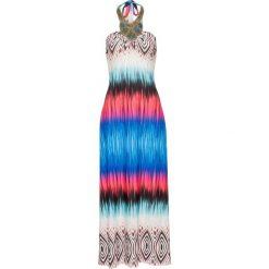 Sukienki hiszpanki: Sukienka kolorowa bonprix niebieski