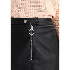 Minispódniczki: Topshop Petite ZIP Spódnica mini black