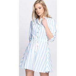 Sukienki: Niebieska Sukienka Chase Me