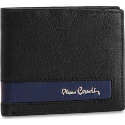 Duży Portfel Męski PIERRE CARDIN - TILAK26 8824 Black/Blue. Czarne portfele męskie Pierre Cardin, ze skóry. Za 99,00 zł.