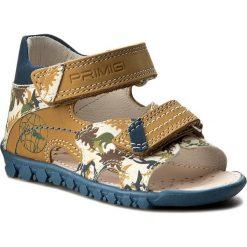 Sandały PRIMIGI - 7053000  Gial. Żółte sandały męskie skórzane marki Primigi. W wyprzedaży za 149,00 zł.