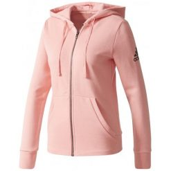 Bluzy damskie: Adidas Bluza Ess Solid Fullzip Hoodie Tactile Rose L