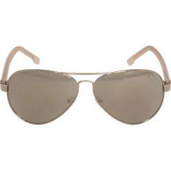Lacoste Okulary przeciwsłoneczne light gold. Żółte okulary przeciwsłoneczne męskie Lacoste. Za 579,00 zł.