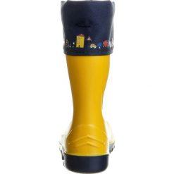 Romika JERRY Kalosze zitrone/ blau. Żółte buty zimowe damskie marki Romika, w kolorowe wzory, z materiału. Za 129,00 zł.