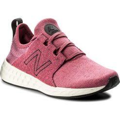 Buty NEW BALANCE - WCRUZHM Różowy. Czerwone buty do biegania damskie marki New Balance, z gumy. W wyprzedaży za 249,00 zł.