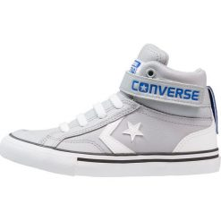 Converse PRO BLAZE STRAP JUNIOR Tenisówki i Trampki wysokie wolf grey/white/hyper royal. Szare tenisówki męskie marki Converse, z materiału. Za 229,00 zł.