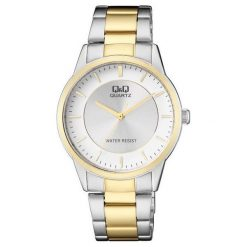 Zegarek Q&Q Męski Klasyczny QA44-401 srebrny. Szare zegarki męskie Q&Q, srebrne. Za 102,20 zł.