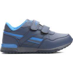 Granatowe Buty Sportowe Now You. Niebieskie buty sportowe chłopięce Born2be, z materiału, z okrągłym noskiem. Za 49,99 zł.