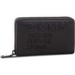 Portfele damskie: Duży Portfel Damski DKNY - Md Zip Around R832Z636 Blk/Black BBL