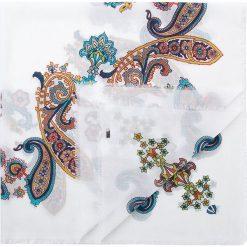 Chusta damska 84-7D-X02-X01. Białe chusty damskie marki Wittchen, z bawełny. Za 229,00 zł.