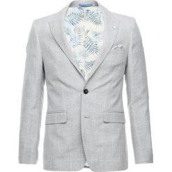 Burton Menswear London NEUT CHECK Marynarka garniturowa grey. Szare marynarki męskie slim fit Burton Menswear London, z materiału. Za 459,00 zł.