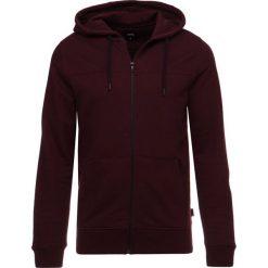 Bejsbolówki męskie: Burton Menswear London ZIP THRU CORE Bluza rozpinana burgundy