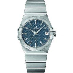 ZEGAREK OMEGA CONSTELLATION CO-AXIAL 123.10.35.20.03.002. Szare zegarki męskie marki OMEGA, ze stali. Za 15000,00 zł.