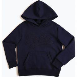Polo Ralph Lauren - Chłopięca bluza nierozpinana, niebieski. Niebieskie bluzy chłopięce rozpinane marki Polo Ralph Lauren, z haftami. Za 349,95 zł.