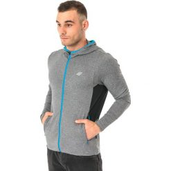 Bluzy męskie: 4f Bluza męska z kapturem H4L17-BLMF001 ciemnoszara r. XXL