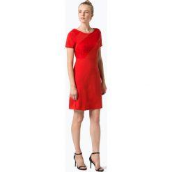 Comma - Sukienka damska, czerwony. Czerwone sukienki hiszpanki comma, z koronki. Za 299,95 zł.