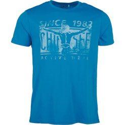 """T-shirty męskie z nadrukiem: Koszulka """"Ottfried"""" w kolorze niebieskim"""