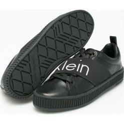 Calvin Klein Jeans - Buty. Szare buty sportowe damskie marki Calvin Klein Jeans, z jeansu. Za 449,90 zł.