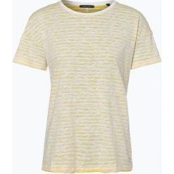 T-shirty damskie: Marc O'Polo – T-shirt damski, żółty