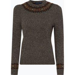 Polo Ralph Lauren - Sweter damski z dodatkiem wełny zalpaki, wełny merino i kaszmiru, zielony. Zielone swetry klasyczne damskie marki Polo Ralph Lauren, s, z kaszmiru, polo. Za 999,95 zł.