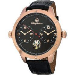 """Zegarki męskie: Zegarek """"New Haven"""" w kolorze czarno-różowozłotym"""