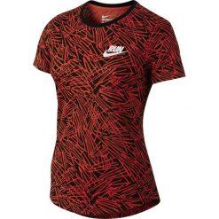 Nike Koszulka damska Run P W Palm Aop Tee czerwona r. M (739545 696). Czerwone topy sportowe damskie Nike, m. Za 81,19 zł.