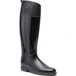 Kalosze U.S. POLO ASSN. - Fiordaliso4 FLATY2247W3/G1D Blk. Czarne buty zimowe damskie U.S. Polo Assn., z materiału. Za 329,00 zł.
