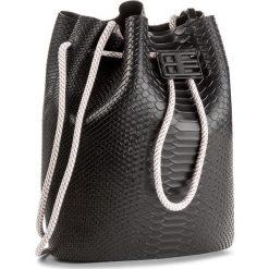 Torebka MELISSA - Bag + Baja East Ad 34131 Black 01003. Czarne torebki worki Melissa, z tworzywa sztucznego. W wyprzedaży za 439,00 zł.