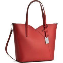 Torebka CREOLE - K10359  Czerwony. Czerwone torebki klasyczne damskie Creole, ze skóry. W wyprzedaży za 259,00 zł.
