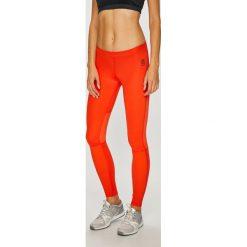 Reebok - Legginsy. Pomarańczowe legginsy Reebok, l, z elastanu. W wyprzedaży za 259,90 zł.