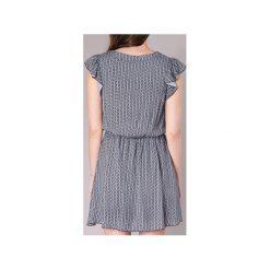 Sukienki krótkie Molly Bracken  JYVO. Niebieskie sukienki hiszpanki Molly Bracken, l, z krótkim rękawem, mini. Za 175,20 zł.