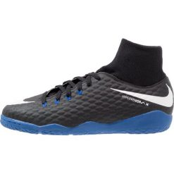 Nike Performance HYPERVENOMX PHELON 3 DF IC Halówki black/white/game royal. Czarne buty skate męskie Nike Performance, z gumy, do piłki nożnej. W wyprzedaży za 209,25 zł.