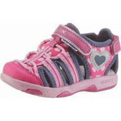 GEOX Kids Sandały 'Sandal Multy Girl'  królewski błękit / różowy. Czerwone sandały dziewczęce marki geox kids, z materiału, na rzepy. Za 147,00 zł.