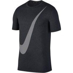 Nike T-Shirt Treningowy Męski M Nk Brt Top Ss Hpr Dry Logo/Black/Anthracite/White M. Białe t-shirty męskie Nike, m, z tkaniny. Za 165,00 zł.