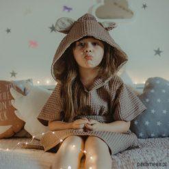 Odzież dziecięca: Szlafrok miś