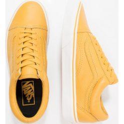 Vans UA OLD SKOOL Tenisówki i Trampki mineral yellow/blanc de blanc. Żółte tenisówki damskie Vans, z materiału. W wyprzedaży za 169,50 zł.