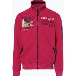 Camp David - Męska bluza rozpinana, czerwony. Czerwone bluzy męskie rozpinane marki KALENJI, m, z elastanu, z długim rękawem, długie. Za 299,95 zł.