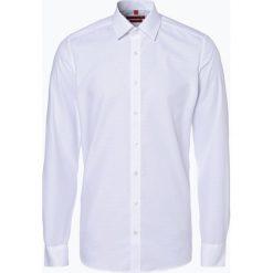 Finshley & Harding - Koszula męska łatwa w prasowaniu, czarny. Czarne koszule męskie na spinki marki Finshley & Harding, w kratkę. Za 89,95 zł.