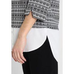 Swetry klasyczne damskie: Dorothy Perkins Petite POW PRINT  Sweter grey