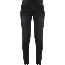 Vila VIPETAL  Jeans Skinny Fit black. Czarne rurki damskie Vila. Za 209,00 zł.