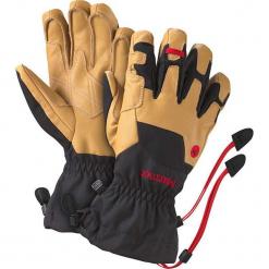 Skórzane rękawiczki w kolorze jasnobrązowym. Brązowe rękawiczki męskie marki Reserved. W wyprzedaży za 272,95 zł.