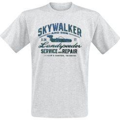 Star Wars Skywalker And Son T-Shirt odcienie szarego. Niebieskie t-shirty męskie z nadrukiem marki Reserved, l, z okrągłym kołnierzem. Za 74,90 zł.