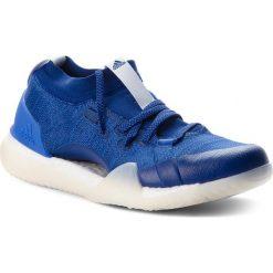 Buty adidas - PureBoost X Trainer 3.0 DA8967 Mysblu/Aerblu/Hirblu. Białe buty do biegania damskie marki Adidas, m. W wyprzedaży za 419,00 zł.