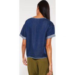 Bluzki asymetryczne: Native Youth STREAM Bluzka indigo