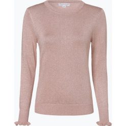 Marie Lund - Sweter damski, różowy. Czerwone swetry klasyczne damskie Marie Lund, m, z dzianiny, z falbankami. Za 129,95 zł.
