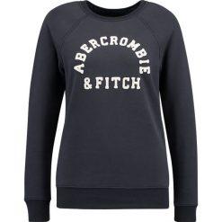 Bluzy rozpinane damskie: Abercrombie & Fitch LOGO CREW Bluza navy