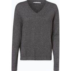 Apriori - Sweter damski z mieszanki jedwabiu i kaszmiru, szary. Niebieskie swetry klasyczne damskie marki Apriori, l. Za 449,95 zł.
