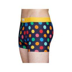 Bielizna męska trunk Happy Socks BDO87-6001. Brązowa bokserki męskie marki Happy Socks, z materiału. Za 49,99 zł.