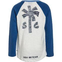 Scotch Shrunk LONG SLEEVE COLOURBLOCK RAGLAN WITH ARTWORKS Bluzka z długim rękawem blue. Białe bluzki dziewczęce bawełniane marki UP ALL NIGHT, z krótkim rękawem. Za 169,00 zł.